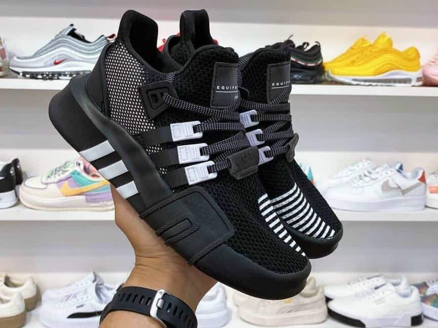 Giày EQT Đen rep 1:1 là siêu phẩm được các Sneakerhead trông đợi