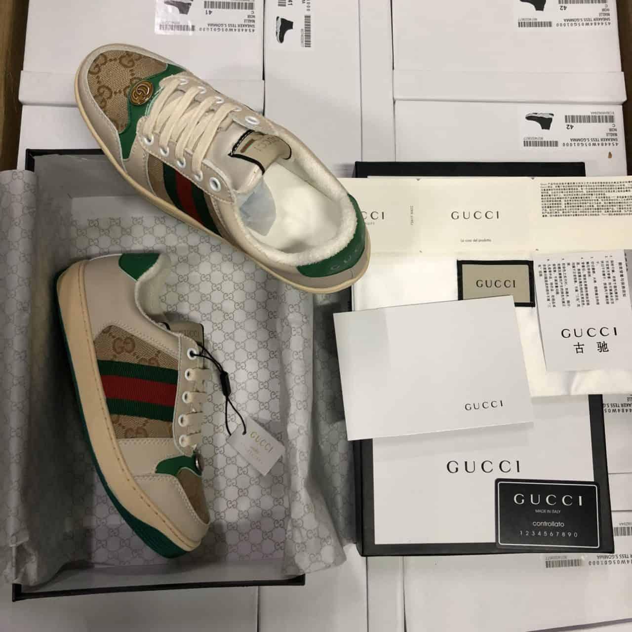 Giày Gucci Sơn Tùng Rep 1:1 sở hữu vẻ cổ điển, đẳng cấp
