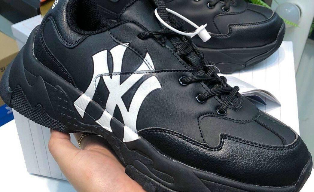 Giày MLB NY Trắng Đen rep 1:1 làm điên đảo giới trẻ