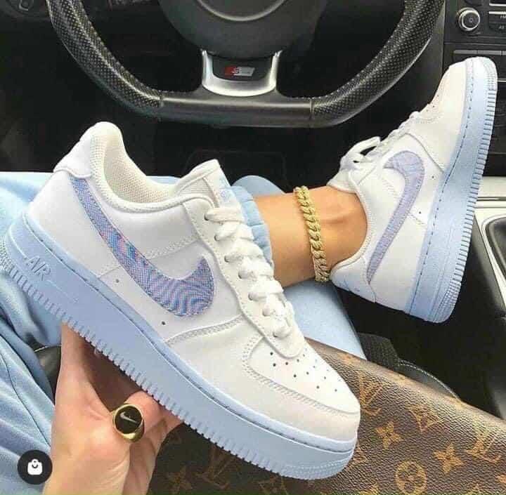 Giày Nike Air Force 1 đế Xanh rep 1:1 làm chao đảo giới thời trang