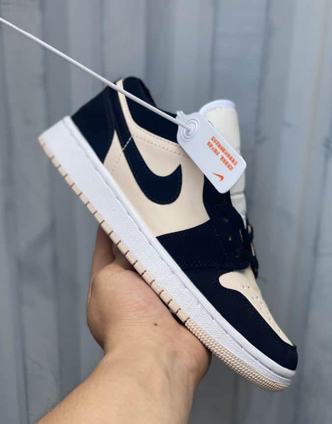 Đi giày Jordan 1 Low Hồng Đen rep 1:1 không lo bí chân