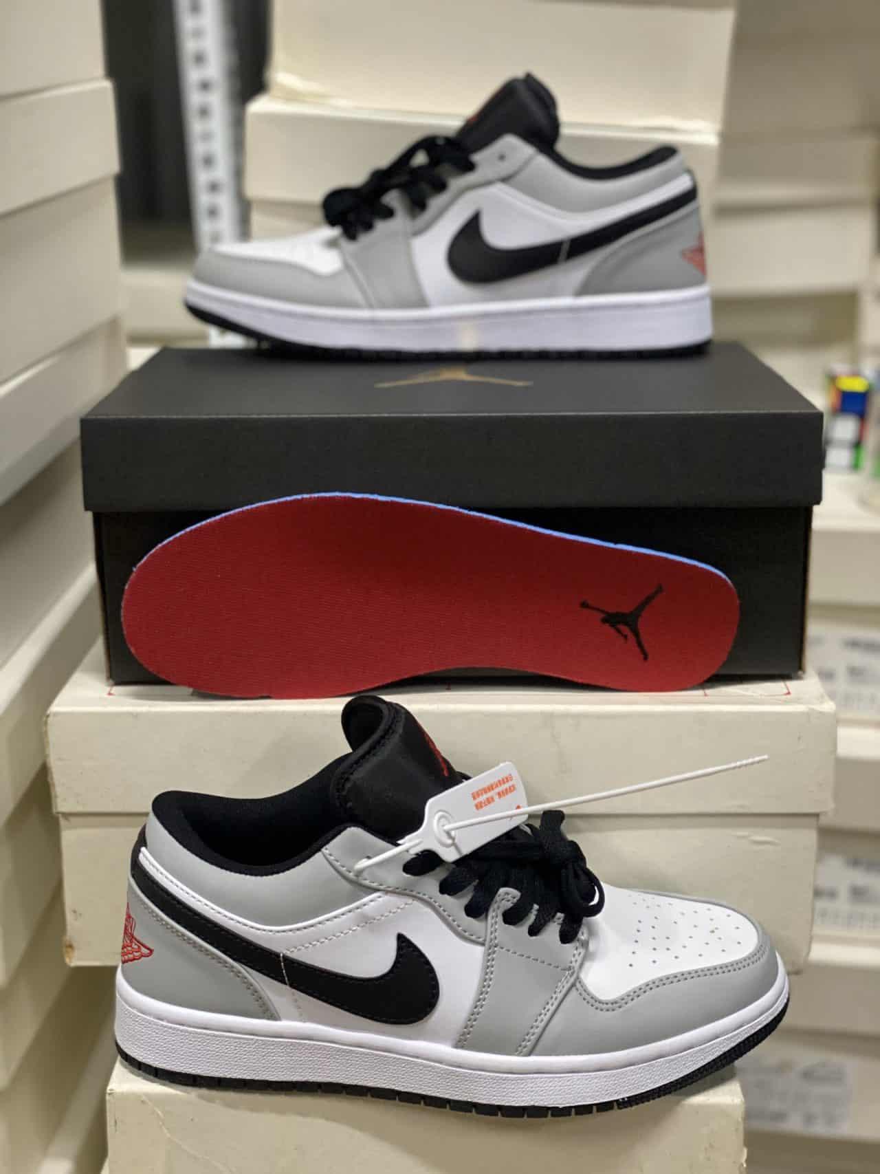 Giày Jordan 1 Low Smoke Grey rep 1:1 phù hợp với cả nam và nữ