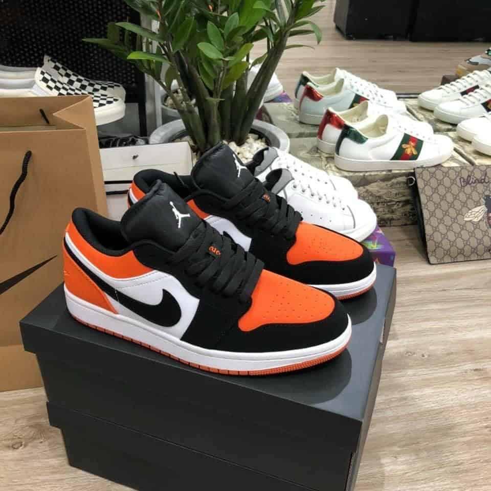 Giày Jordan 1 Low Cam rep 1:1 xứng đáng là sự lựa chọn đáng cân nhắc cho bạn