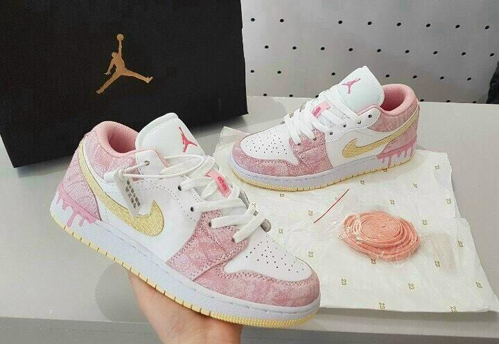 Giày Jordan 1 Low ICE CREAM rep 1:1 có màu sắc mới lạ, bắt mắt