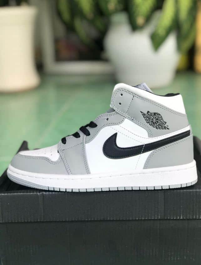 Giày Jordan 1 High Xám rep 1:1 mang vẻ đẹp thời thượng
