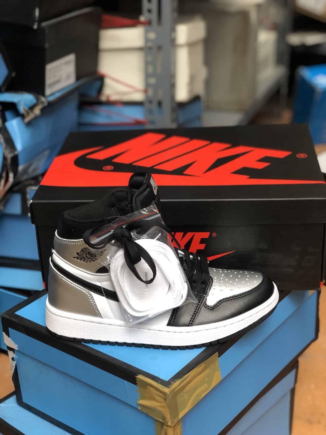 Giày Jordan 1 High Bạc rep 1:1 phối màu độc nhất vô nhị