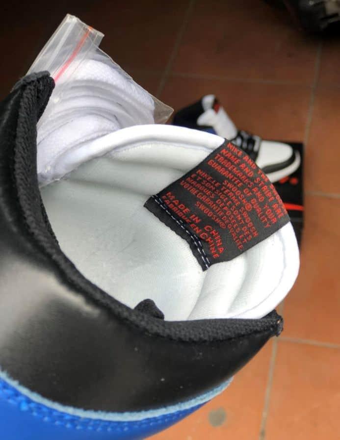 Giày Jordan 1 High Xanh Đỏ rep 1:1 bảo vệ đôi chân của bạn