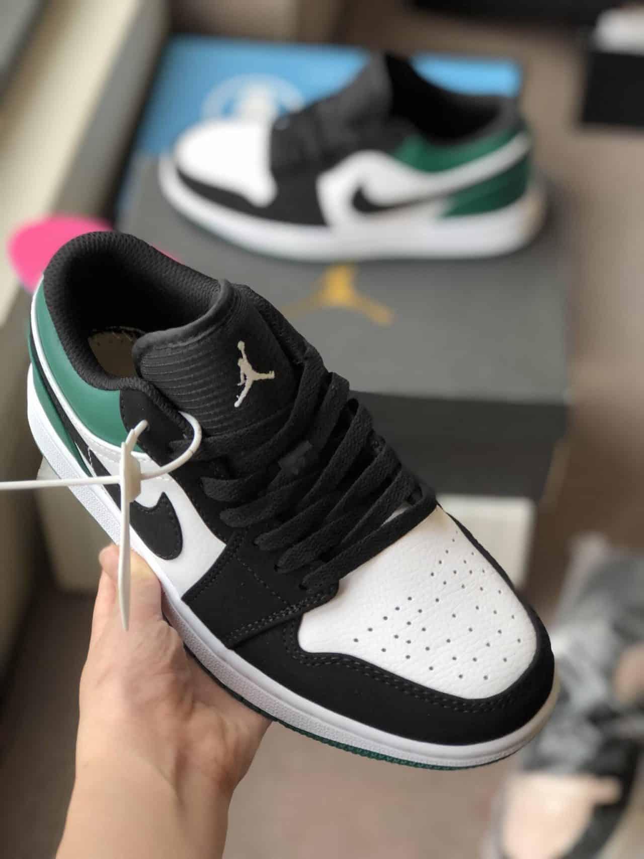 Nike Air Jordan 1 Low Xanh Đen Rep 1:1 thiết kế độc đáo, sang trọng