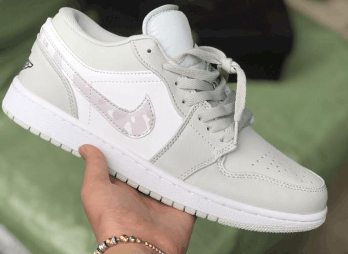 Giày Jordan 1 Low Camo rep 1:1 có thiết kế chuẩn xịn, mang phong cách cực chất
