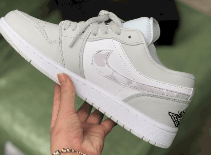 Giày Jordan 1 Low Camo rep 1:1 có giá thành tốt, phải chăng