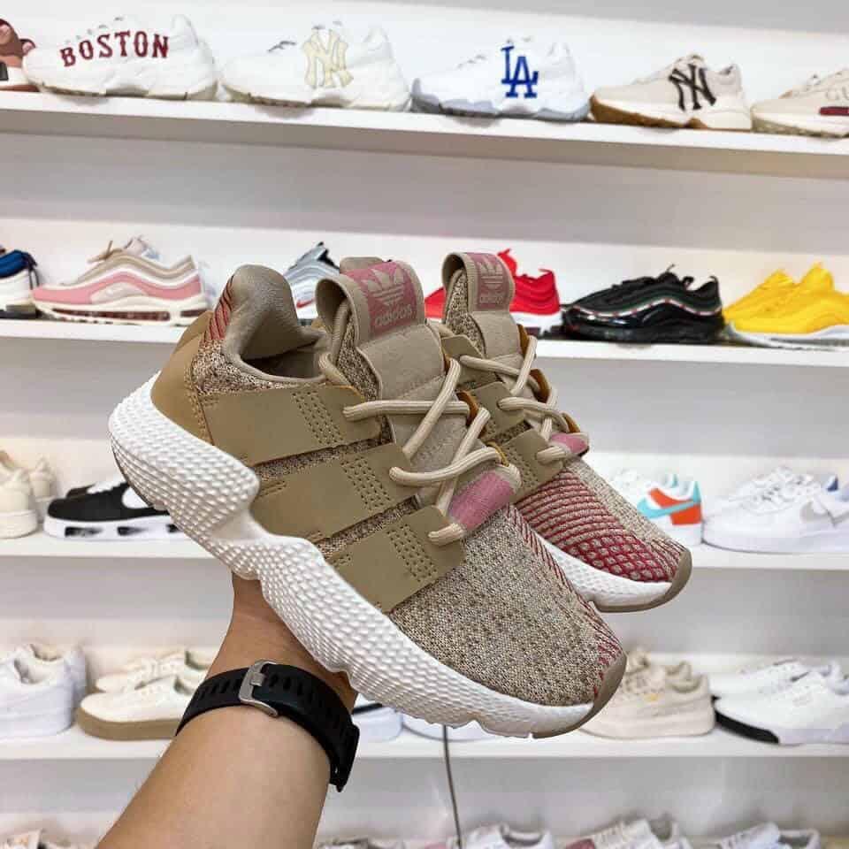 Giày Prophere Nâu Hồng rep 1:1 làm mưa làm gió trên thị trường Sneaker ngày nay