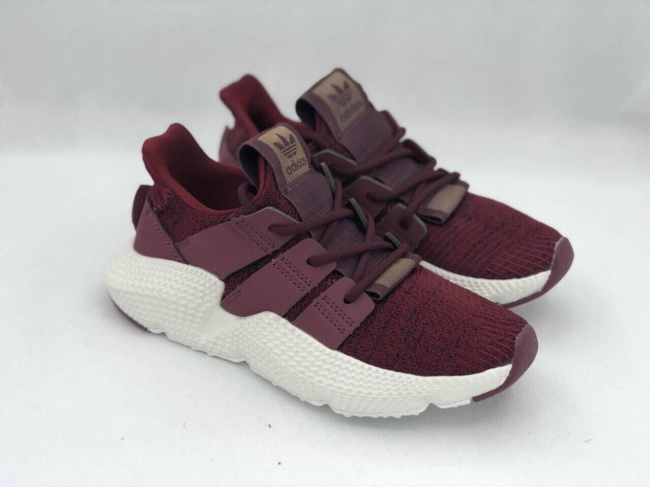 Phong cách phối đồ cá tính và ấn tượng với giày Prophere Adidas Đỏ Mận replica