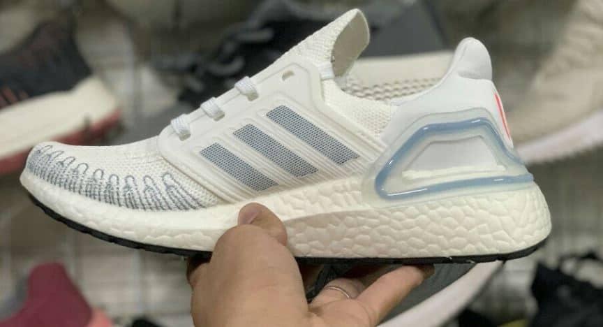Giày Ultra Boost 6.0 Trắng Xanh rep 1:1 có thiết kế trẻ trung