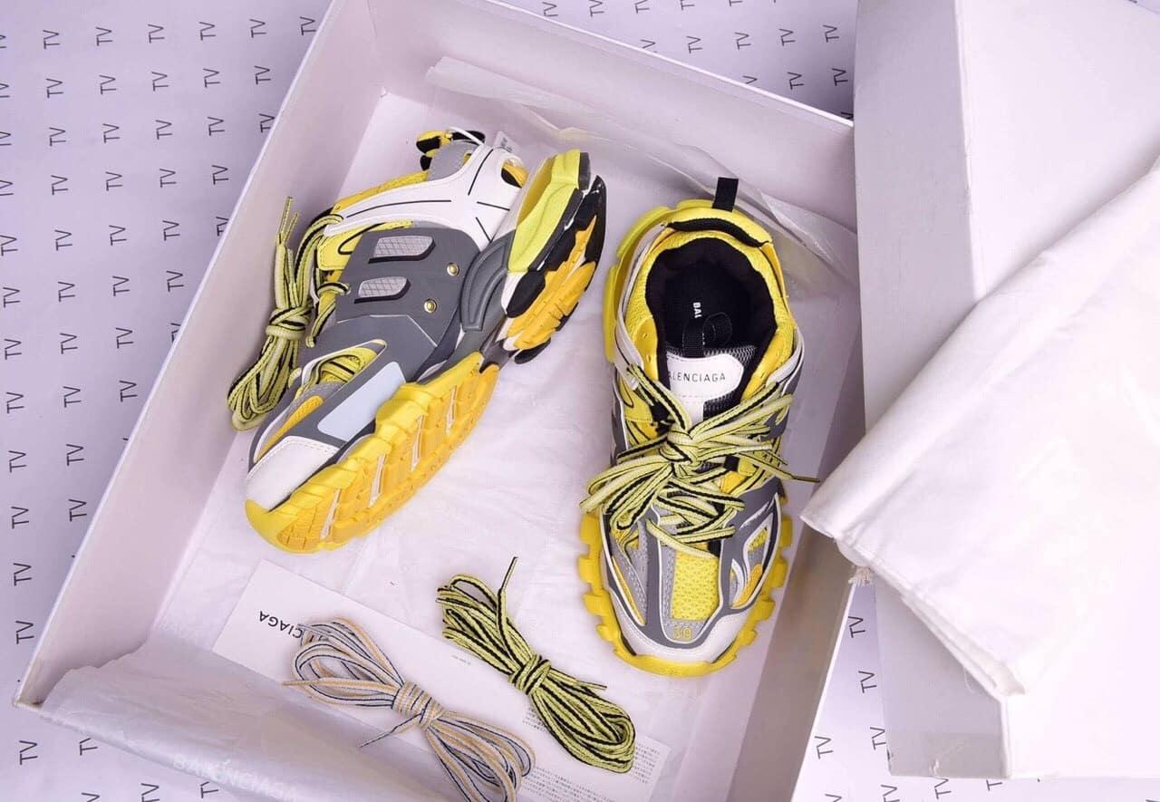 Giày Balenciaga Track màu vàng phiên bản giới hạn mới