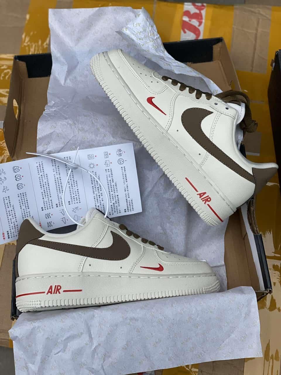 Giày Nike Air Force 1 Nâu Rep 1:1 được ưa chuộng trên toàn thế giới