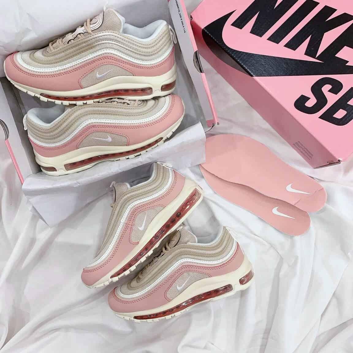 Giày Nike Air Max 97 Hồng rep 1:1 sinh ra dành cho phái đẹp