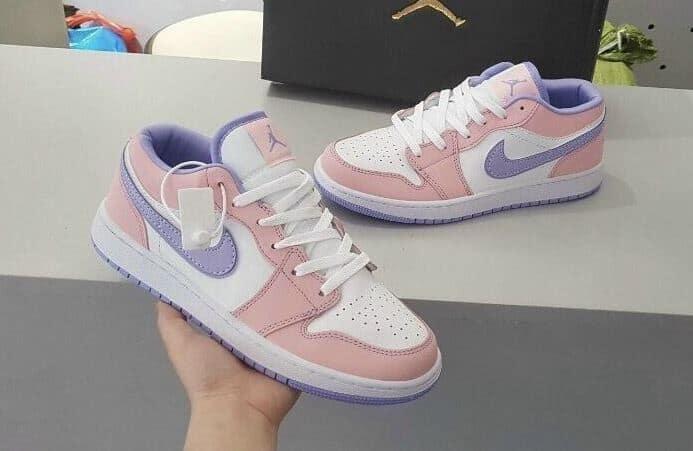 Giày Jordan 1 Low Hồng Tím rep 1:1 có thiết kế đẹp – độc – lạ