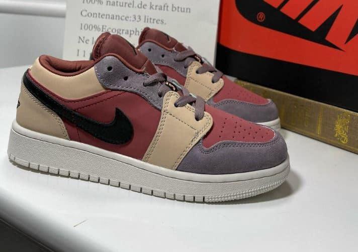 Giày Jordan 1 Low Đỏ Mận rep 1:1 là sản phẩm mang phong cách cá tính, khỏe khoắn, năng động
