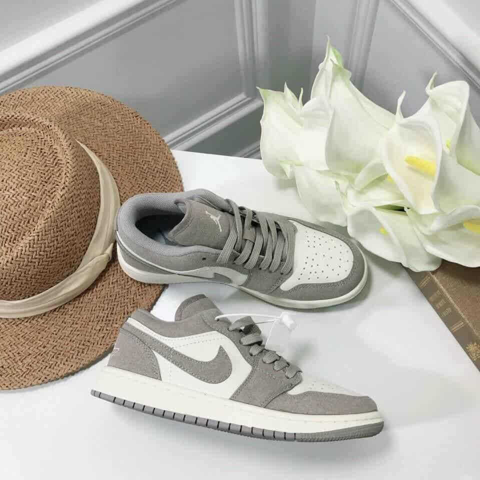 Jordan 1 Low Xám Nhạt rep 1:1 với chất lượng tuyệt vời là lựa chọn của nhiều tín đồ Sneaker