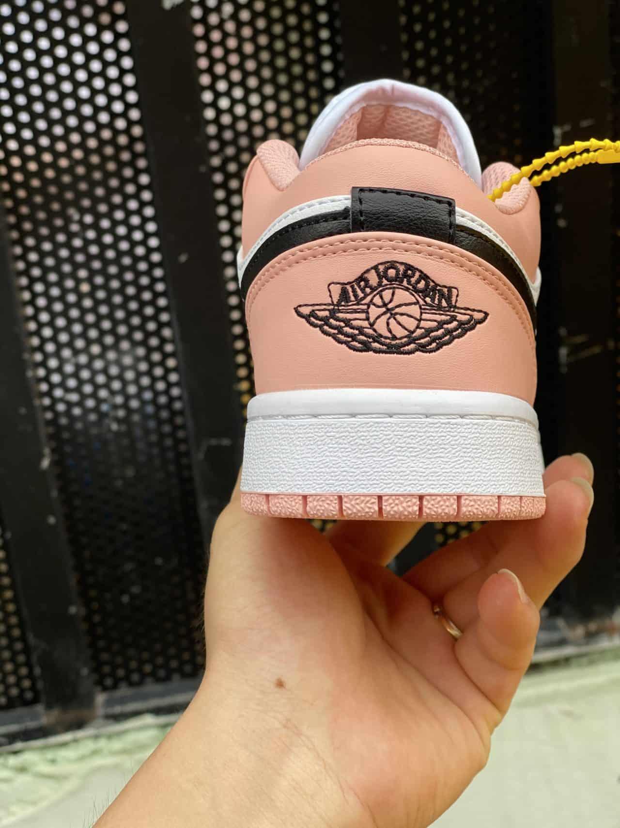 Giày Jordan 1 Low rep 1:1 màu hồng có form dáng chuẩn