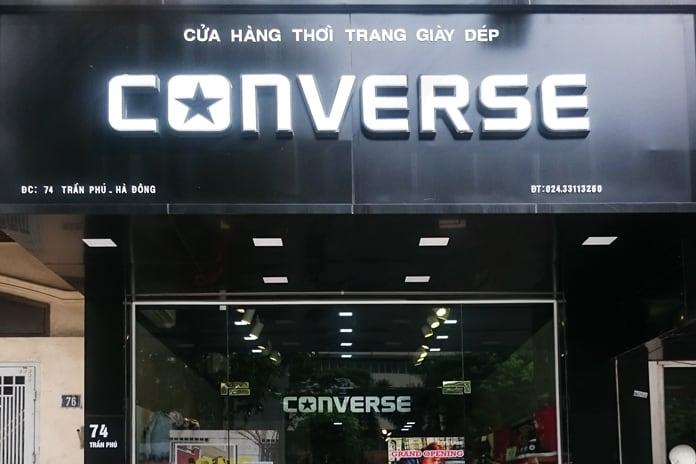 Muốn mua giày Converse nam chính hãng tại Hà Nội cứ ghé Converse Hà Đông