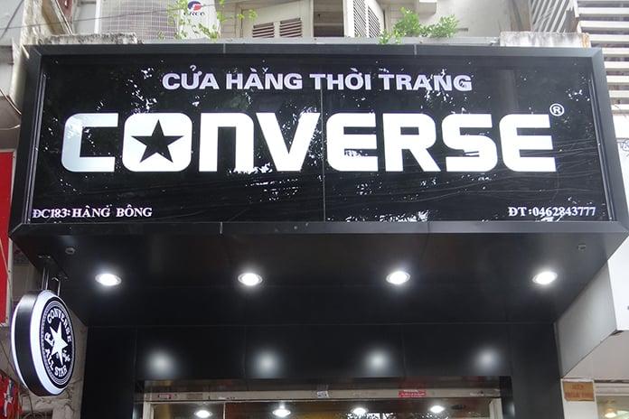 Converse Hàng Bông là shop giày Converse nam chính hãng tại Hà Nội