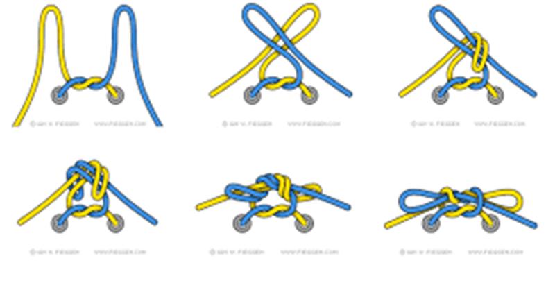 Các bước buộc dây giày hình nơ đơn giản, không bị tuột khi đá bóng
