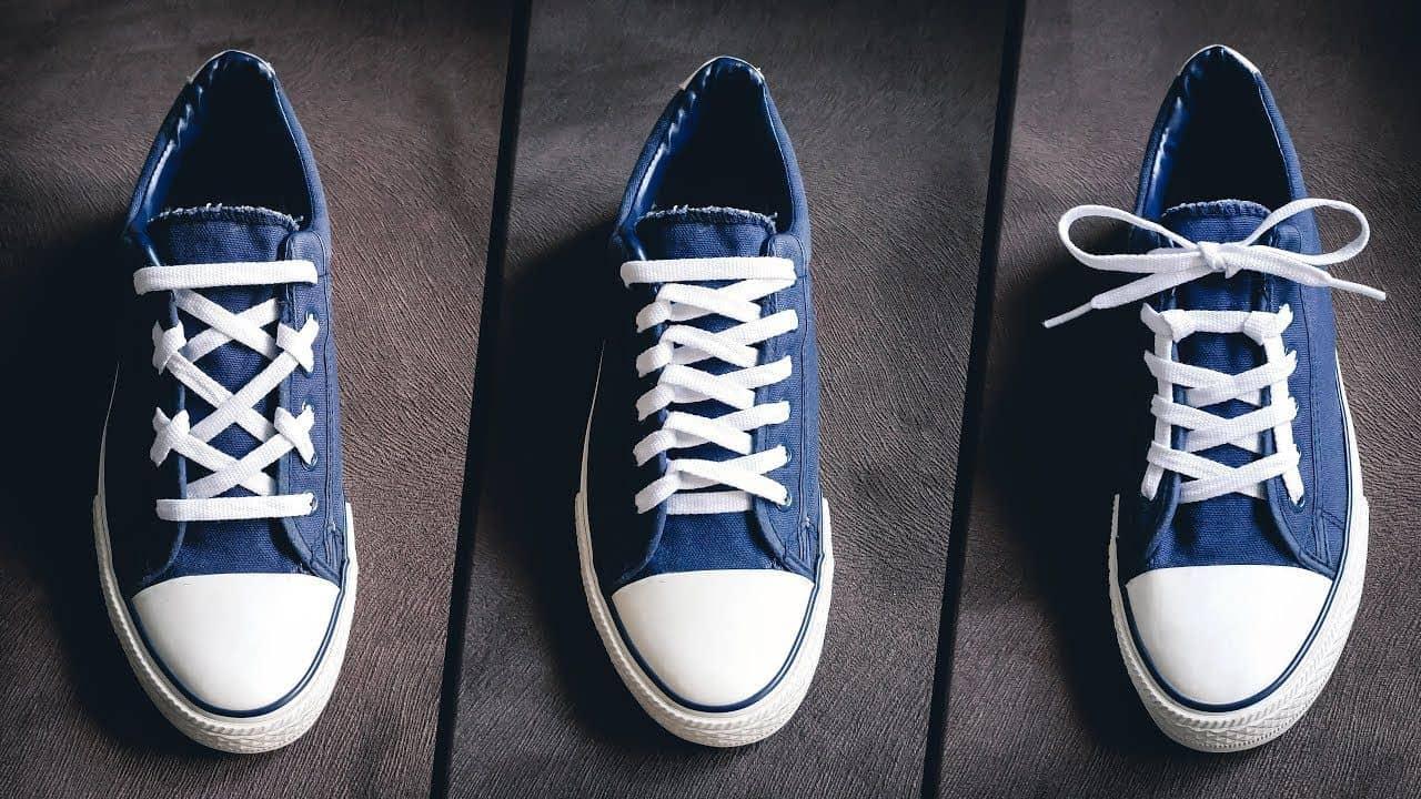 Chọn cho mình nhiều kiểu thắt dây giày khác nhau