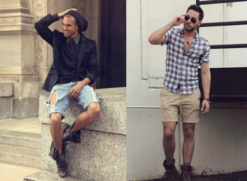 Nổi bật và thời trang với set đồ kết hợp quần short và giày boot
