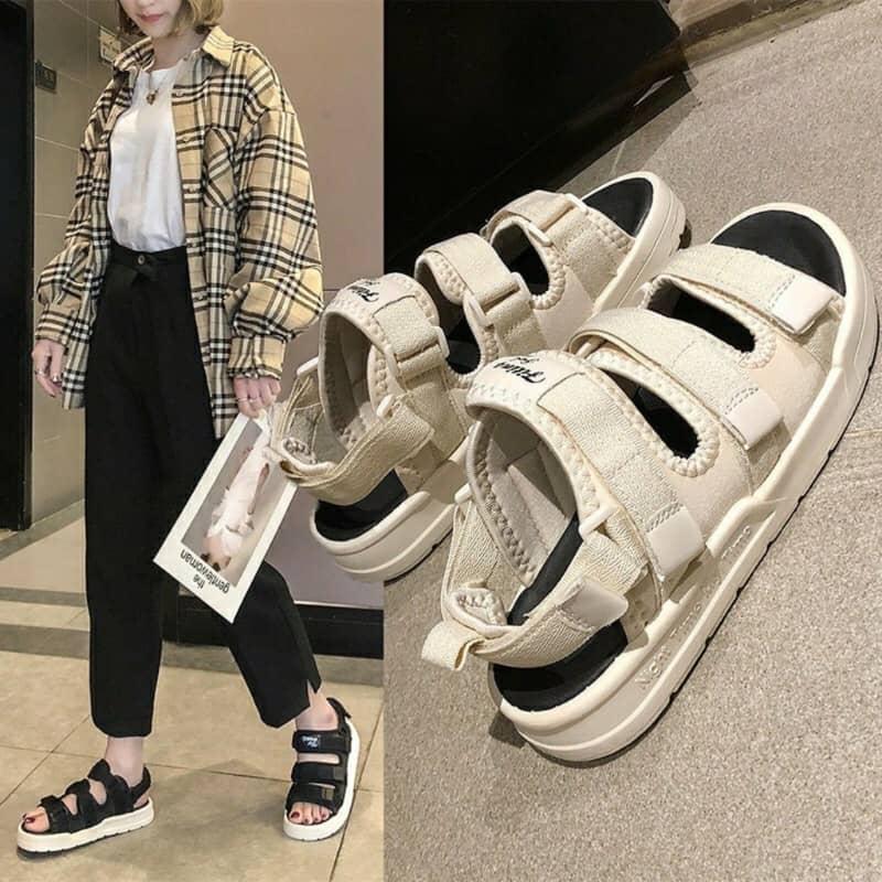 Mẫu giày đi học nữ cấp 2 Streetwear