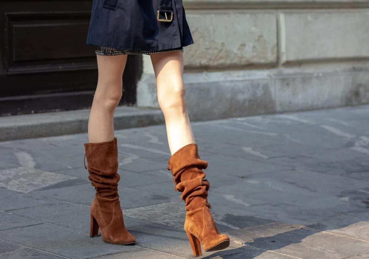 Slouch Boots với những nếp gấp khác biệt
