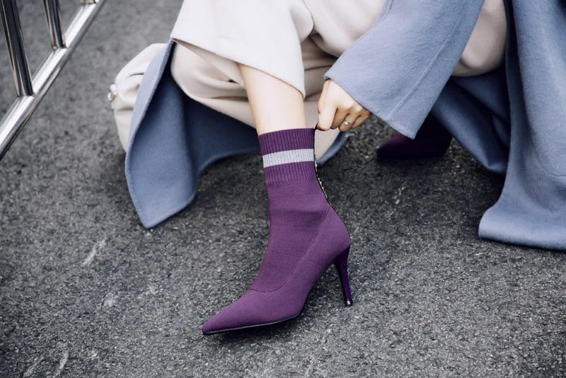Sock Boots ôm sát với cân