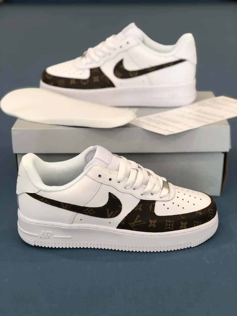 Giày Nike Air Force 1 X Louis Vuitton