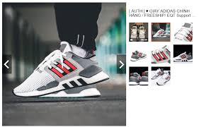 Gia công của giày adidas công phu