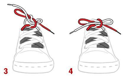 Cách cột dây giày cơ bản