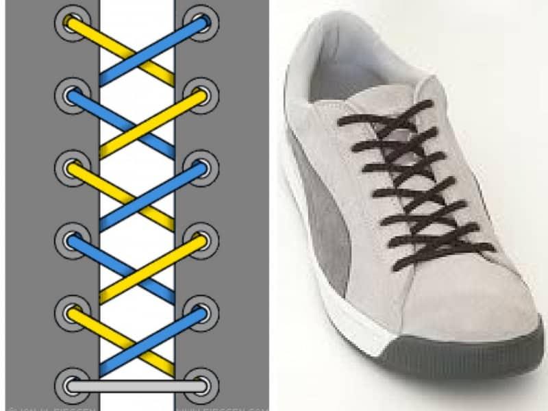 Kiểu Criss Cross - Kiểu thắt mang phong cách cổ điển