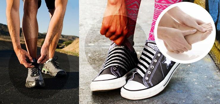 Lựa chọn giày thể thao vừa vặn để thoải mái khi di chuyển cả ngày