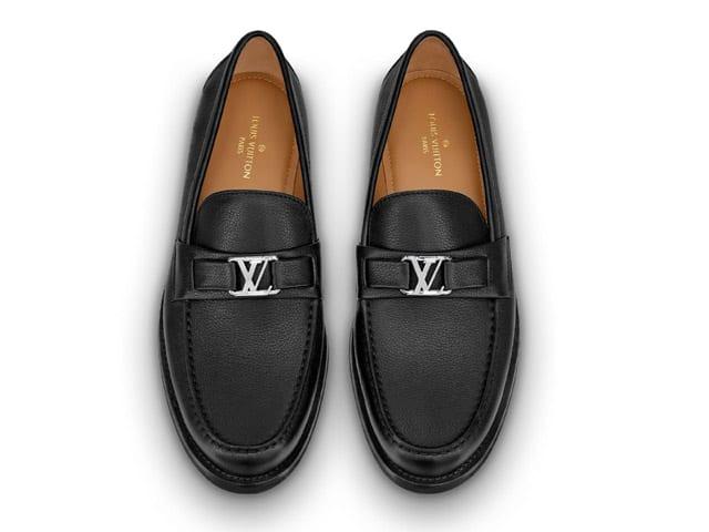 Nhận biết giày lười nam hàng hiệu LV qua mã sản phẩm