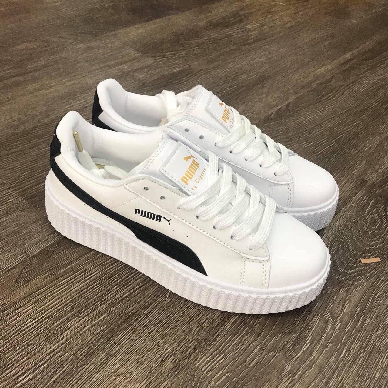 Giày Puma trắng đen