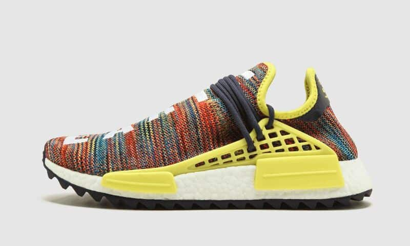 Phiên bản giày Pharrell x NMD Human Race Multicolor