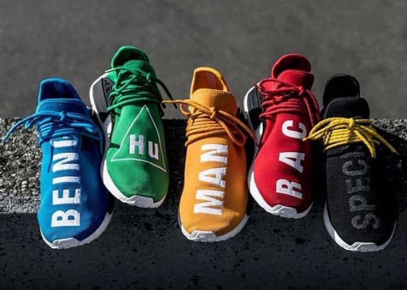 Giày Adidas NMD Human Race có phong cách thiết kế mới mẻ và độc đáo