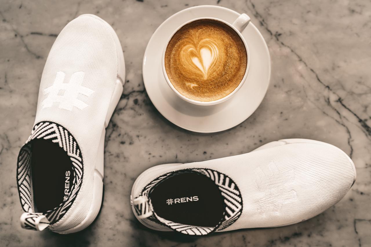 Tận dụng bã cà phê vào quy trình sản xuất giày sneaker.