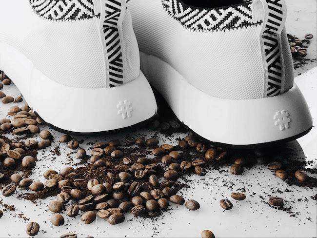 Ưu điểm nổi bật của giày làm từ bã cà phê.