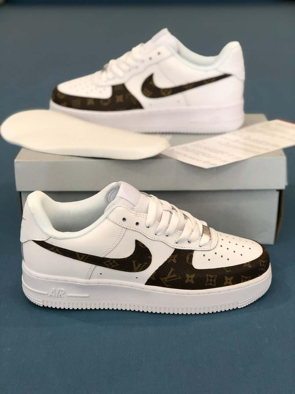 Nike Air Force 1 Louis Vuitton rep 1:1 được đánh giá cao bởi thiết kế sang trọng, đẳng cấp