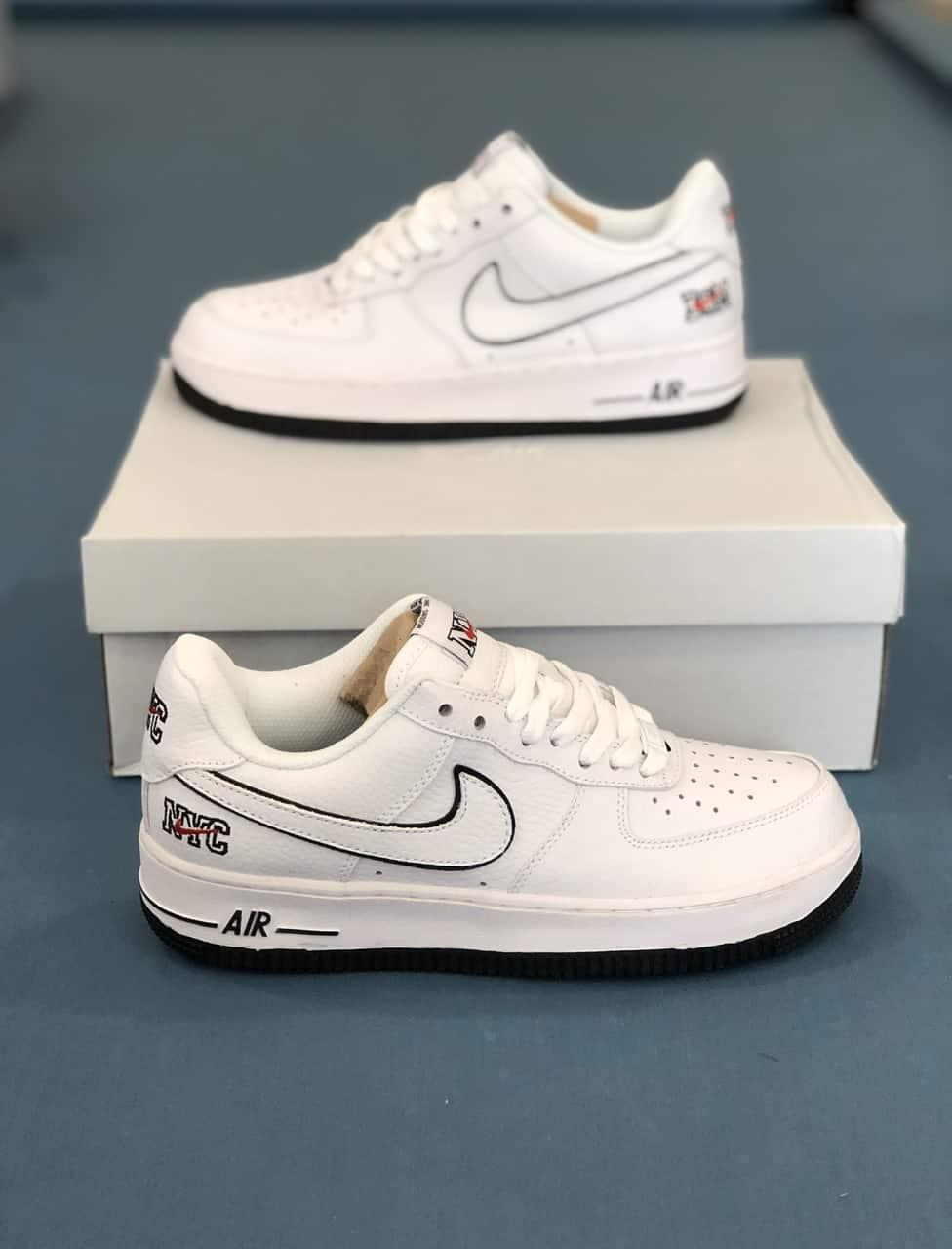 Giày Nike Air Force 1 NYC rep 1:1 có thiết kế nổi bật với nhiều chi tiết đẹp mắt