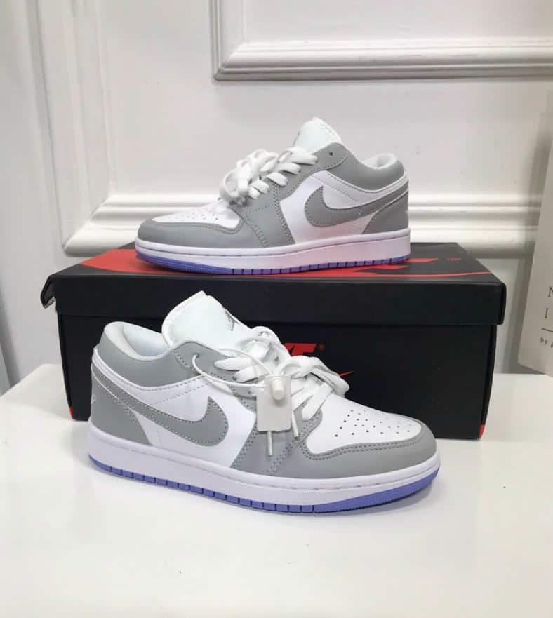 Giày Jordan 1 Low Xám Xanh rep 1:1 chất lượng nói lên thương hiệu