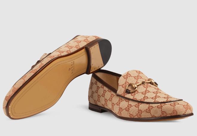 Giày Gucci Men Jordaan GG Canvas Loafer khiến mọi khách hàng đều hài lòng