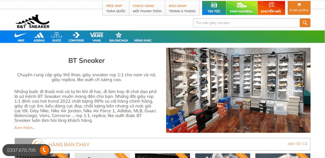 Địa chỉ mua giày adidas chính hãng