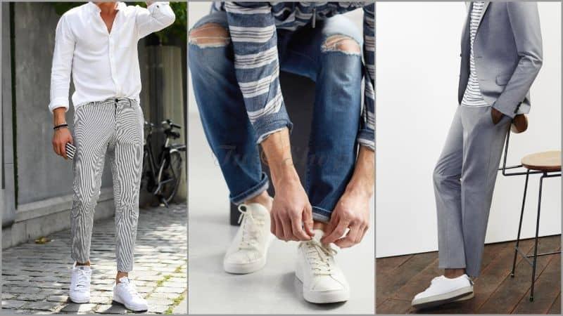 Giày trắng có thể phối được cùng nhiều phong cách khác nhau