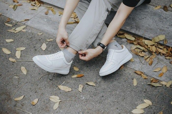 Phối đồ đẹp với giày cho nam thấp ăn gian chiều cao